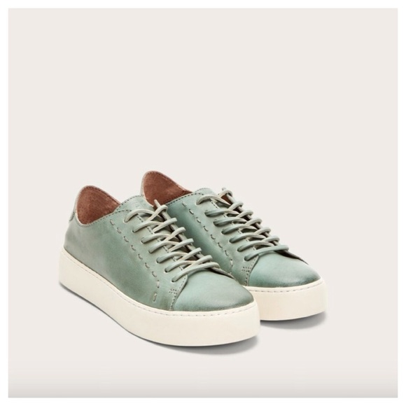 Nwt Frye Womens Lena Low Lace Sneakers